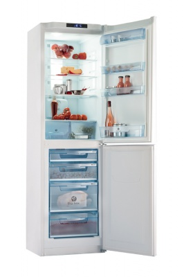 Two-compartment household refrigerator POZIS RK FNF-174 with electronic unit